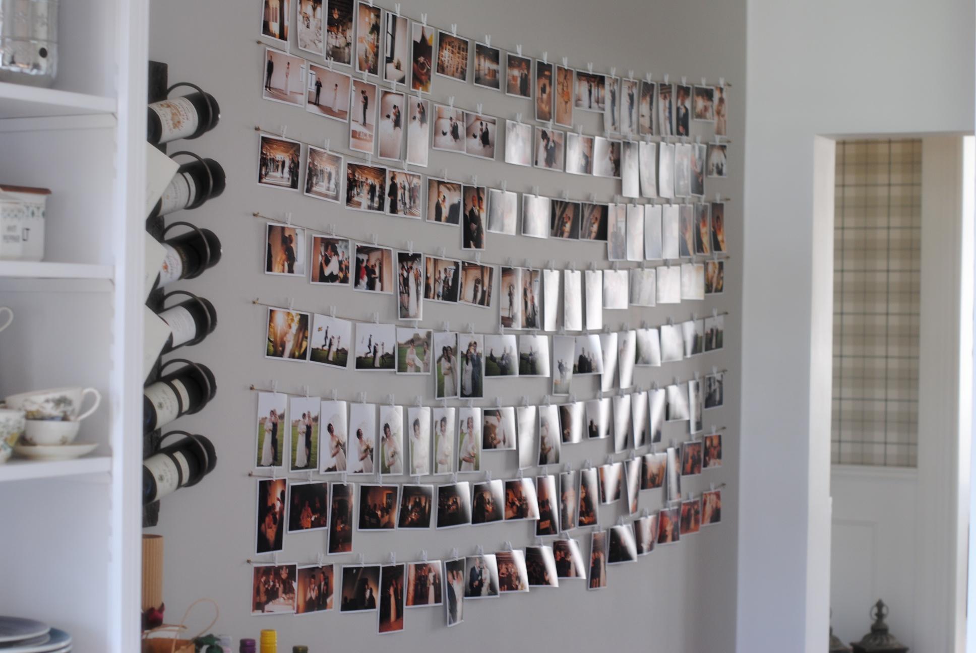 Savannas DrömmarBröllopsbilder på väggen Savannas Drömmar